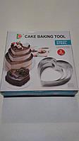 Форма для десертов,теста,пирожных (3 шт)