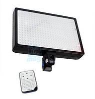 LED-336 Профессиональный светодиодный свет , 3000K-6000K + АБ+ДУ.
