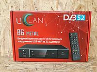 Тюнер спутниковый U2C B6 metal с дисплеем