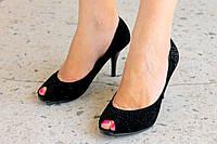 Женские замшевые туфельки не дорого