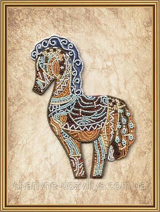 Набор для вышивки бисером Дивная лошадь, фото 2