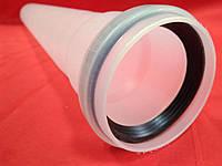 Удлинитель 0,5м (500мм) D=60мм конденсационный дымоход