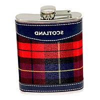 "Фляга для виски и скотча ""Scotland"" 8 унций A144-8B"