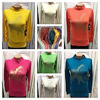 Женский свитер плотный кашемир фирмы Lidia