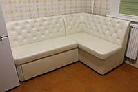 Мягкая мебель для не большой кухни (Белая)