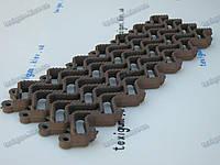 """Универсальное модульное напольное покрытие """"Волна-15"""", цвет коричневый"""