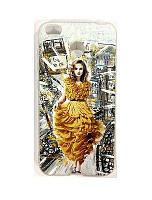 Чехол Unipa Fashion Case Xiaomi Redmi 4x City Girl White V1
