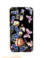 Чехол Unipa Fashion Case Xiaomi Redmi 4x Flowers Black V1