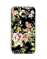 Чехол Unipa Fashion Case Xiaomi Redmi 4x Flowers Black V3