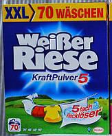 Weißer Riese - порошок для стирки белья (Германия) 4,9 кг- 70 стирок