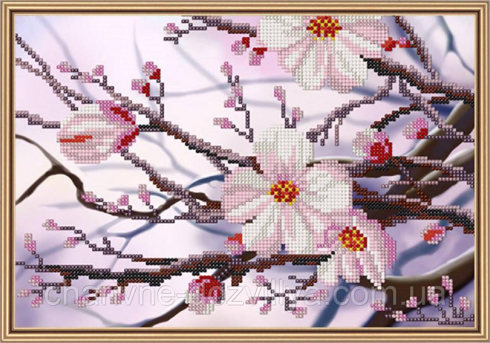 Набор для вышивки бисером Яблоневый цвет