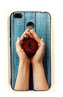 Чехол Unipa Fashion Case Xiaomi Redmi 4x Rose Black V1