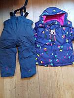 Зимний костюм для девочки. Размеры 98,104,110,116,122,128