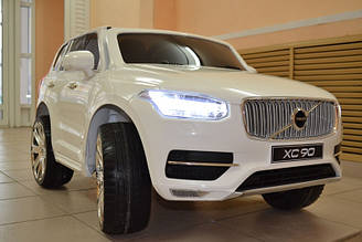 Детский электромобиль VOLVO XC90, белый
