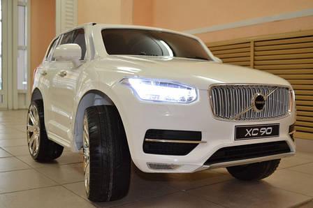 Детский электромобиль VOLVO XC90, белый, фото 2