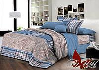 Двуспальный комплект постельного белья ранфорс R4030 с комп. ТM TAG