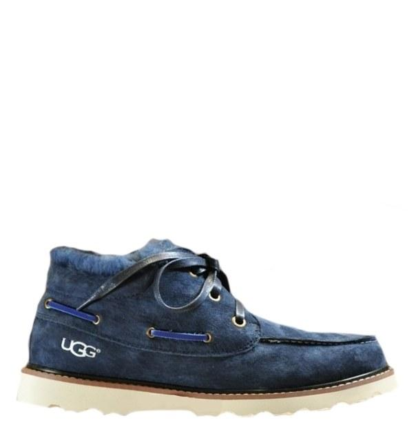 Угги UGG David Beckham Lace Navy