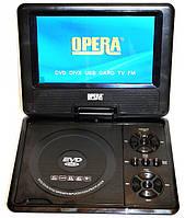 """Портативный DVD плеер Opera 7,6"""" TV тюнер USB"""