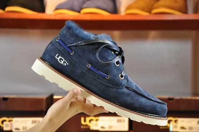UGG David Beckham Lace Navy