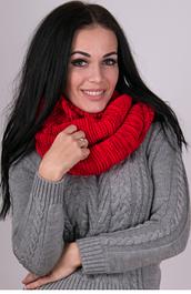 Вязанные шапки и шарфы