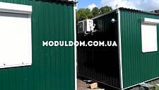 Модульний офис (5 х 2.5 м.) под ключ, на основе цельно-сварного металлокаркаса., фото 3