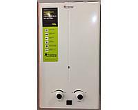 Газовая колонка проточная Thermo Alliance JSD 20-10 CR БЕЛАЯ,Дымоход, автомат (батарейки)