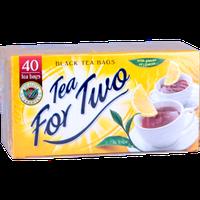 """Чай черный пакетированный """"Tea For Two"""" с лимоном 100 пакетиков"""