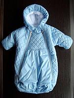 Конверт - мешок для новорожденного, Снежинка, фото 1