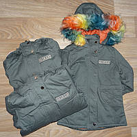 Куртка утепленная для девочек оптом Nature 2/3-8/9 лет. № RSB-4858