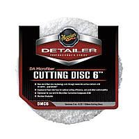"Meguiar's DMC6 DA Microfiber Cutting Disc 6"" Микрофибровый режущий диск, 15 см - 2 шт. , фото 1"