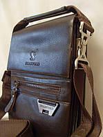 Мужская сумка Bradford 6006-7 коричневая искусственная кожа, фото 1