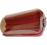 Пластиковая хлебница красная 290х230х170 мм, фото 3