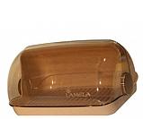 Пластиковая хлебница красная 290х230х170 мм, фото 4