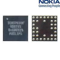 Микросхема управления радио TEA5760/4373489 34 pin для Nokia 2626/3110c/3120c/3250, оригинал
