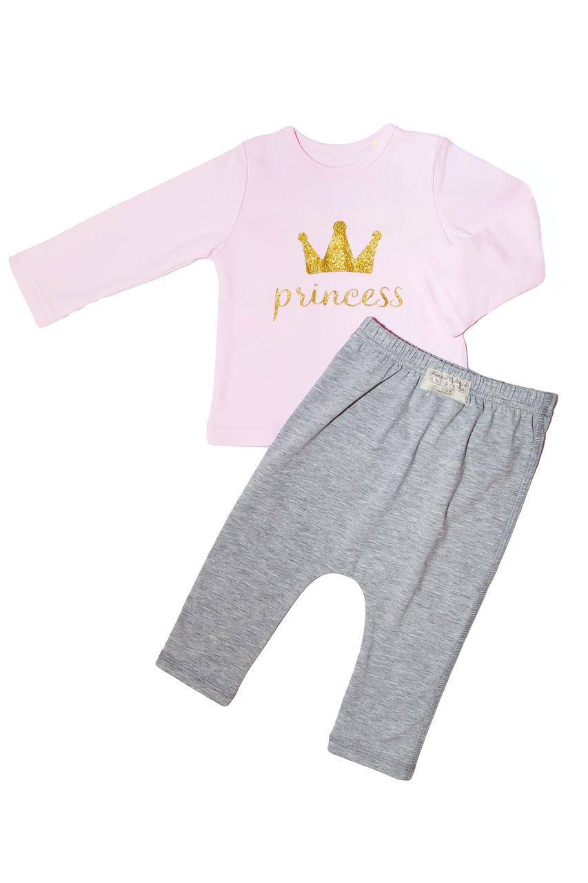 """Дизайнерский Костюм 1,5/2/3 года Andriana Kids """"Princess"""""""