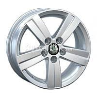 Литые диски Replay Skoda (SK33) R15 W6 PCD5x100 ET38 DIA57.1 (silver)