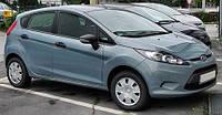 Лобовое стекло на Ford Fiesta с местом под зеркало и окошком под VIN (2008-)