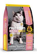 Nutram Sound Balanced Wellness® Natural Adult & Senior Cat Food  с курицей и лососем Для взрослых котов 1,8кг