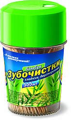 Зубочистки 300 шт бамбук