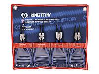 Набор съемников стопорных колец KING TONY 42114GP (4 предмета)