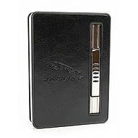 Портсигар с выбросом сигарет и зажигалкой 10х7х2 см (30811)