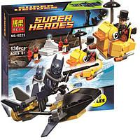 Конструктор Bela 10225 Super Heroes Пингвин даёт отпор 136 деталей