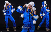 Костюм спортивный женский теплый - 8163