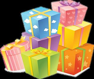 Подарки и многое другое