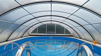 Раздвижной павильон для бассейна Avalon Standart 4,25x8,53м