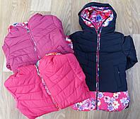 Куртки утепленние  для девочек оптом Crossfire 6-14 лет., № 8608