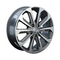 Литые диски Replay Nissan (NS69) R17 W6.5 PCD5x114.3 ET40 DIA66.1 (BKF)
