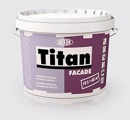 Акриловая фасадная краска Mixon Titan Fasade