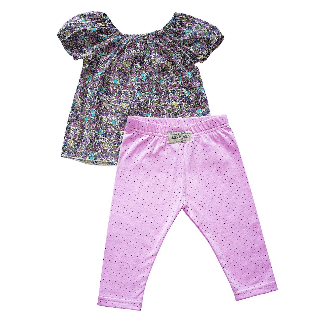 """Костюм Andriana Kids 1,5/2/3 года для девочки """"Маленькие розы"""""""