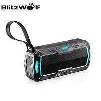 Беспроводная Bluetooth колонка BlitzWolf BW-F3 IP65 Waterproof, фото 1